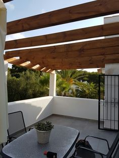 Una terraza con estilo