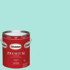"""❤️️ Love this blue color! Glidden's """"Teal Zeal"""" paint (Home Depot). It's similar to the color in the home of Donna Pochaski-Thomas' (from VintageChicFurniture) home! """"It was a paint from Lowe's but when my friend color matched it, it was wrong. Try Glidden's (or Behr's) """"Teal Zeal"""" paint (Home Depot)."""""""