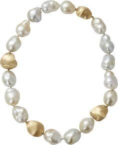 YVEL Baroque Pearl Necklace   ≼❃≽ @kimludcom