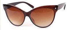 Gafas Retro: Sunglasses 50's Brown via Son de mar Vintage. Click on the image to see more!