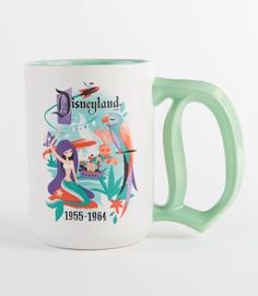 New Disneyland 60th Anniversary mug - so pretty!