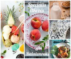 Speciális étkezés a Balatonnál Paleo, Peach, Fruit, Food, Peaches, Eten, Beach Wrap, Meals, Diet