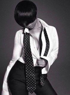 Nicki Minaj Suits Up for L'Uomo Vogue #4 Photo credit: Francesco Carrozzini/L'Uomo Vogue