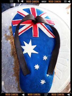 Aussie Day Cake Aussie Food, Australian Food, Yummy Yummy, Yummy Food, Christmas In Australia, Travel Cake, Anzac Day, Australia Day, Holy Spirit