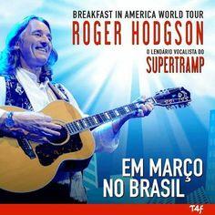 Show Roger Hodgson Santos Brasil @ Eventos de 15 a 16 Marco