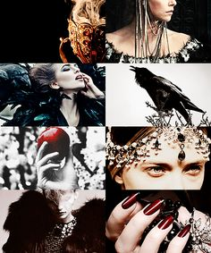THE EVIL QUEEN: Holy water cannot help you now. See, I've had to burn your kingdom down and no rivers and no lakes can put the fire out. I'm gonna raise the stakes, I'm gonna smoke you out