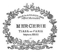 mercerie stamp