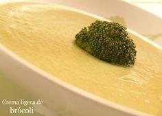 Crema ligera de brócoli - MisThermorecetas.com Food N, Food And Drink, Chowder, Broccoli, Vegan Recipes, Tasty, Vegetables, Cooking, Ethnic Recipes