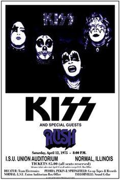 KISS / Rush