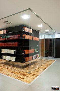 Criada pelos arquitetos da FGMF para escritório de advocacia em São Paulo…