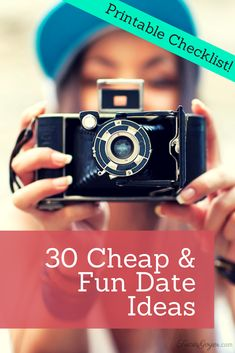 Have your date nights turned into a routine dinner and a movie? Remember how much fun you used to have when you first started dating? I asked friends for suggestions and came up with a list of 30 great date ideas.