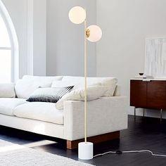 Sphere   Stem Floor Lamp - this is cool too.