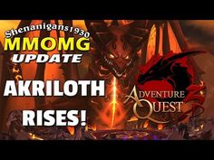 The MMOaholic - MMORPG Madness!: Akriloth Rises! AdventureQuest 3D Update - MMOMG