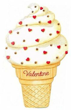 Ice Cream Love ~ Valentine's Day