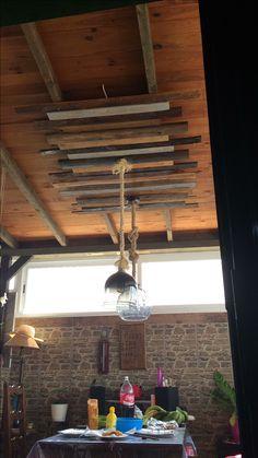 Ideas para no bajar el techo y lucir los apliques de luz al completo