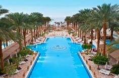 Luxury resort in Eilat, Israel called Herods