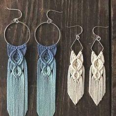 Photos    #crafts #diys #patterns #hacks Macrame Earrings, Beaded Bracelets, Drop Earrings, Moist Pumpkin Bread, Peg Bag, Diy Pins, Stone Bracelet, Little Miss, Boho Jewelry