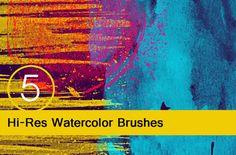 Hi-Res Watercolor textures