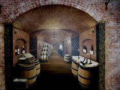 edmonds wine cellar | The Mural Works