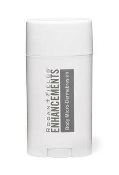 ENHANCEMENTS Body Micro-Dermabrasion feels like an indulgence, but works as a therapeutic, multi-benefit skin treatment. For use in the shower or tub, this powerful micro-dermabrasion exfoliates, cleanses, and conditions skin in one invigorating step for all-over renewal and a smooth even look and feel. Harper's Bazaar proclaims it will banish dry and flaky skin. 54 g/1.9 oz