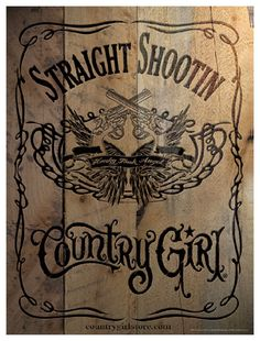 Country Girl Posters
