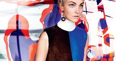 interior lives: caroline trentini by mario testino for us vogue october 2015 | visual optimism; fashion editorials, shows, campaigns & more! - http://visualoptimism.blogspot.com/2015/09/interior-lives-caroline-trentini-by.html