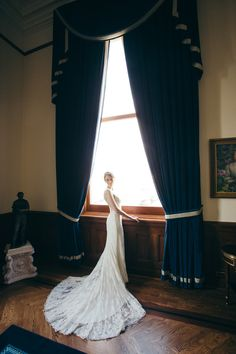jenni + chris | Briar Rose Wedding Gown by Watters for BHLDN | ryan dammam photography | #BHLDNbride