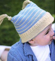 Вязание для малышей шапочки Pixie