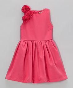 Fuchsia Rosette Dress - Toddler Baby Kids Clothes 8687ccdda64b