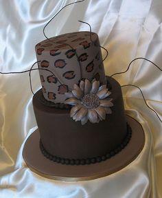 African Themed Throw down Mini Cake