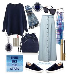 A fashion look from November 2016 featuring Paisie sweaters, Chicnova Fashion skirts and J& sneakers. Browse and shop related looks. Modest Dresses, Modest Outfits, Casual Outfits, Green Outfits, Classy Outfits, Muslim Fashion, Hijab Fashion, Fashion Skirts, Fashion Dolls