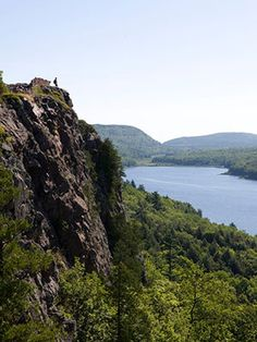 Porcupine Mountains State Park in Michigan's Upper Peninsula contains 59,000 acres and 90 miles of trails.