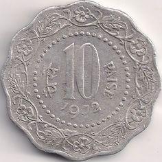 Wertseite: Münze-Asien-Indien-Rupee-0.10-1971-1982