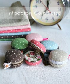 Fun Dollar Store Crafts for Teens, DIY and Crafts, Fun Dollar Store Crafts for Teens - DIY Macaron Coin Purse - Cheap and Easy DIY Ideas for Teenagers to Make for Dollar Stores - Inexpensive Gifts and . Cute Diy Projects, Easy Sewing Projects, Sewing Projects For Beginners, Sewing Hacks, Sewing Tips, Dollar Store Crafts, Dollar Stores, Sewing Patterns Free, Free Sewing