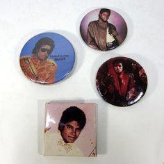 Vintage 1980's Michael Jackson Thriller Billie by TurnerVintage, $28.00
