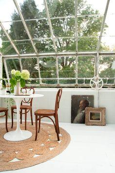 Emily Henderson Samsung The Frame My Scandinavian Home Greenhouse 52