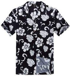 Hawaii Hangover Hawaiian Shirt Aloha Shirt in Navy Hibiscus Camisas Para  Meninos be4ae54b0f16c
