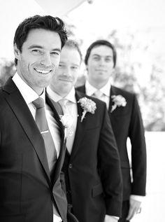 Nice take on the groom and his buddies