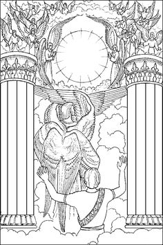Book Of Isaiah Bible Coloring Page