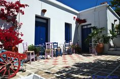 Little corner to sit Athens Greece, Greek Islands, Corner, Bride, Outdoor Decor, Greek Isles, Wedding Bride, Bridal, The Bride