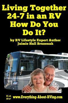 Living Together 24-7 in an RV - How Do You Do It? Come visit us at www.MantecaTrailer.com #MantecaTrailer 877.289.1274