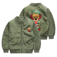 >> Click to Buy << 2017 Baby Boy Girls Spring Jacket Kids 2-6years Children Bomber Jacket Casaco Inverno Menino Boys Jacket #Affiliate