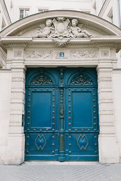 These doors would be great way to enhance a container, even with a pho finish over the existing doors.  Paris, France