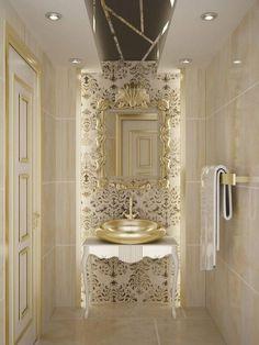 (Kimden: Sinar İç mimarlık) - Best Home Decorating Ideas - Easy Interior Design and Decor Tips Bathroom Spa, Bathroom Interior, Small Bathroom, Palace Interior, Luxury Interior, Interior Architecture, Interior Design, Bad Inspiration, Bathroom Inspiration