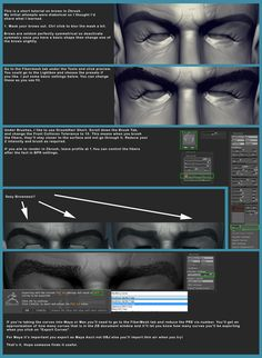 Eyebrows with fibermesh, by Francis-Xavier Martins