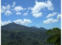 The Caribbean Island of Dominica.