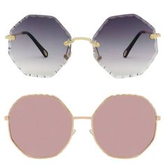 Trendy round shaped sunglasses - 2 Cheap Sunglasses, Round Sunglasses, Angular Face, Straight Nose, High Cheekbones, Square Faces, Round Frame, Natural Forms, Trendy Fashion