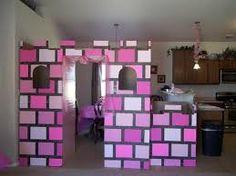 cardboard princess castle - Google Search