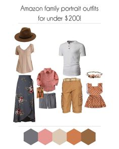 Tips and tricks to help you style your family photo shoot without over spending! Coordinating, flattering, and on trend, with special tips for plus size mommas! Spring Family Pictures, Family Pictures What To Wear, Family Pics, Sunday Pictures, Summer Photos, Family Picture Colors, Family Picture Outfits, Picture Ideas, Photo Ideas