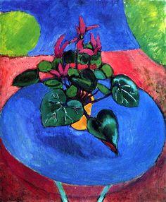 Cyclamen Pourpre, 1911-1912 Henri Matisse